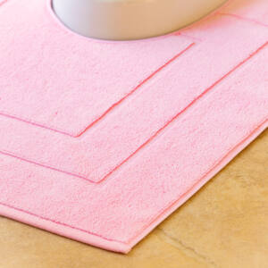 Flair rózsaszín wc kilépő szőnyeg